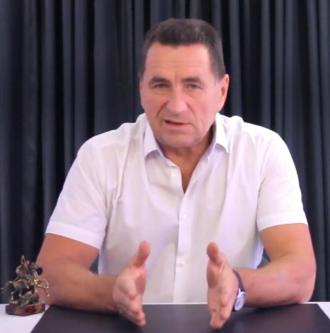 Депутат Виктор Ильин. Кадр из видео В.И. Ильина